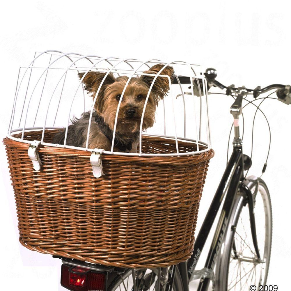 Cykelkorg med skyddsgaller för pakethållare - L 53 x B 35 x H 43 cm