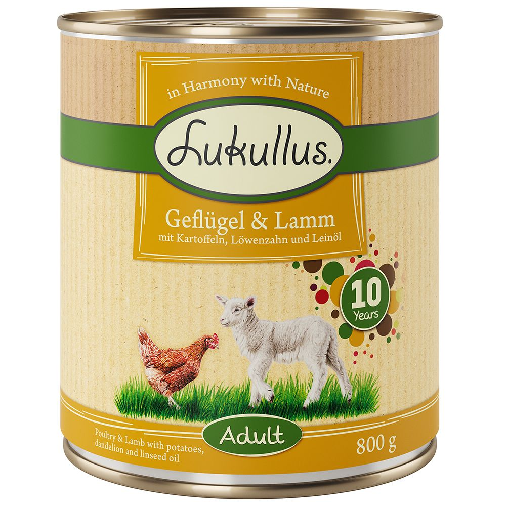 Lukullus Birthday Edition Poultry & Lamb