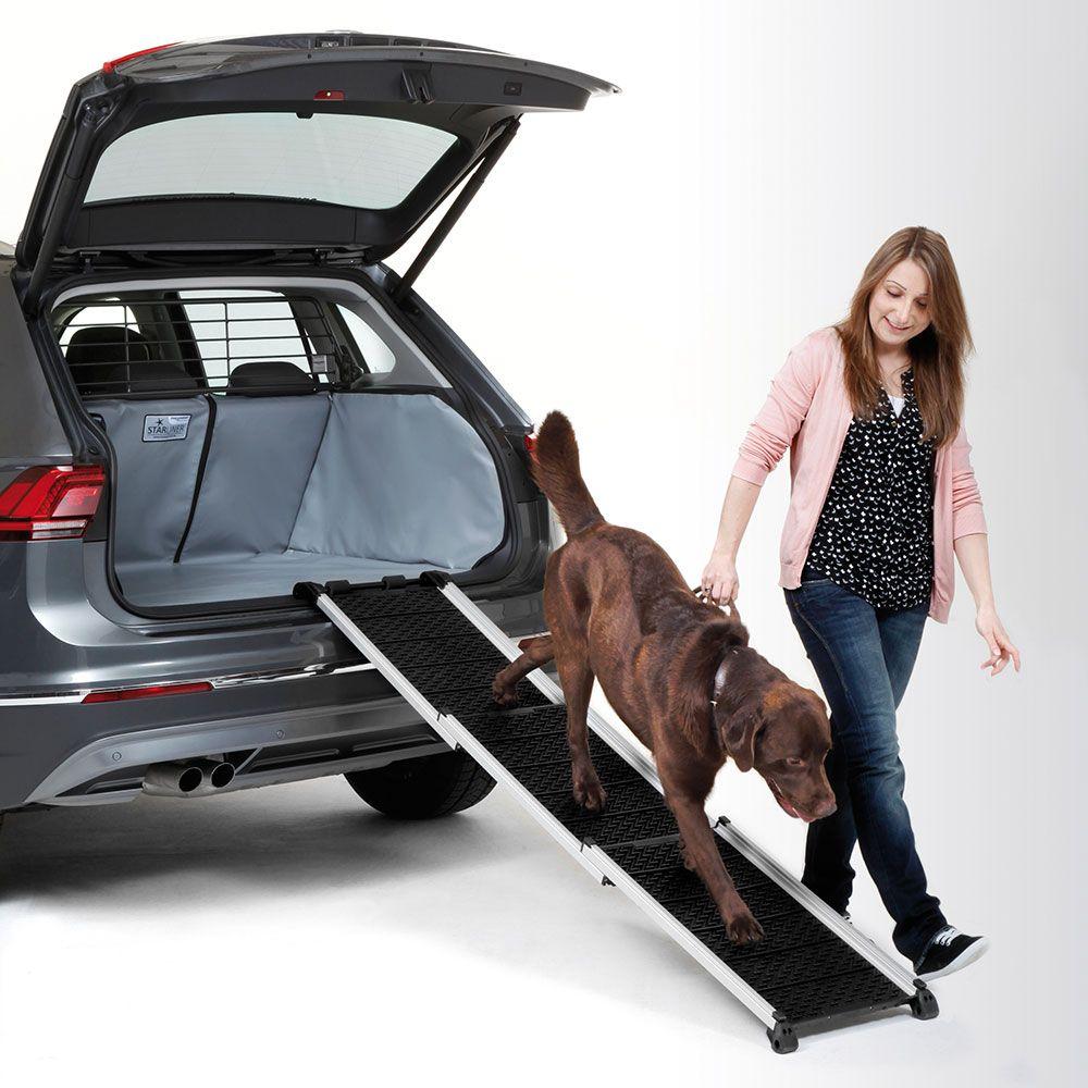 Rampe Kleinmetall DogWalk³ XL pour chien - L 83 - 193 x l 41 cm