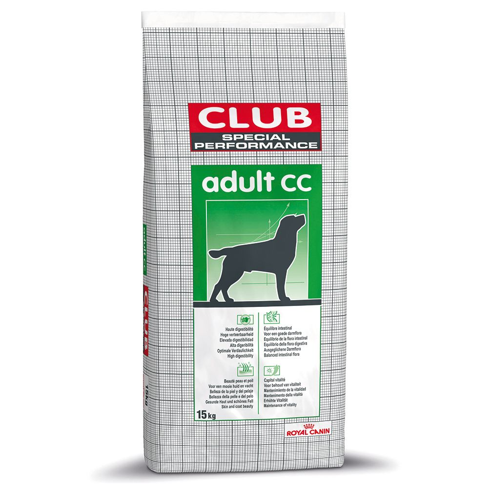 Royal Canin Club CC Adult - Weight Maintainance - 15kg