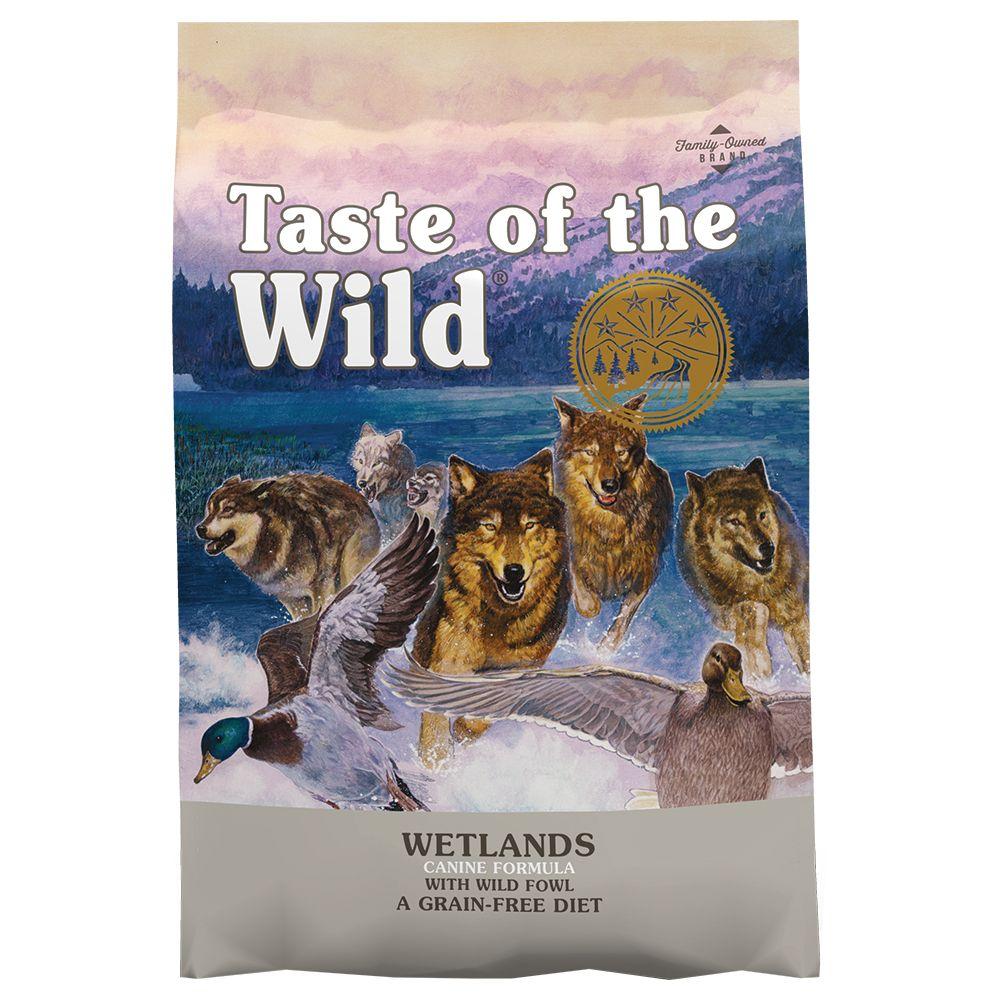 2x13kg Wetlands Adult Taste of the Wild Dry Dog Food