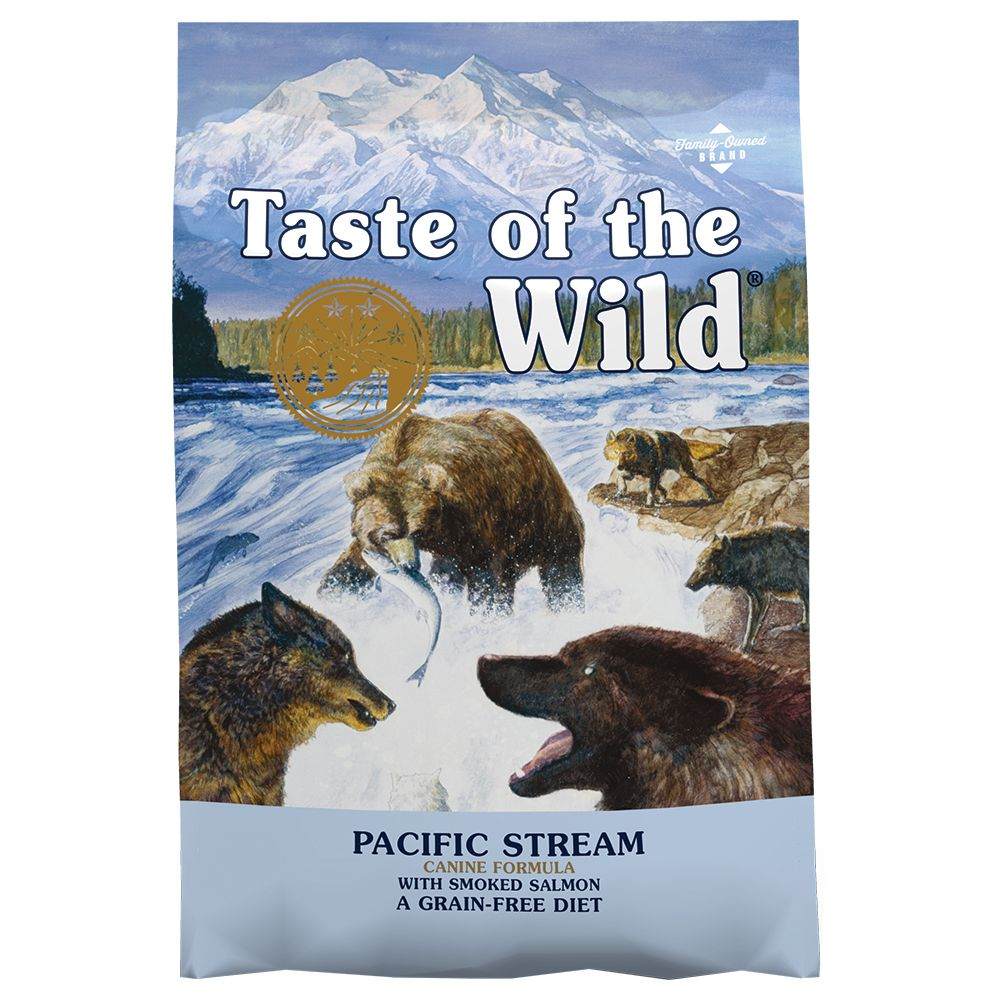 12,2kg Pacific Stream Taste of the Wild - Croquettes pour chien
