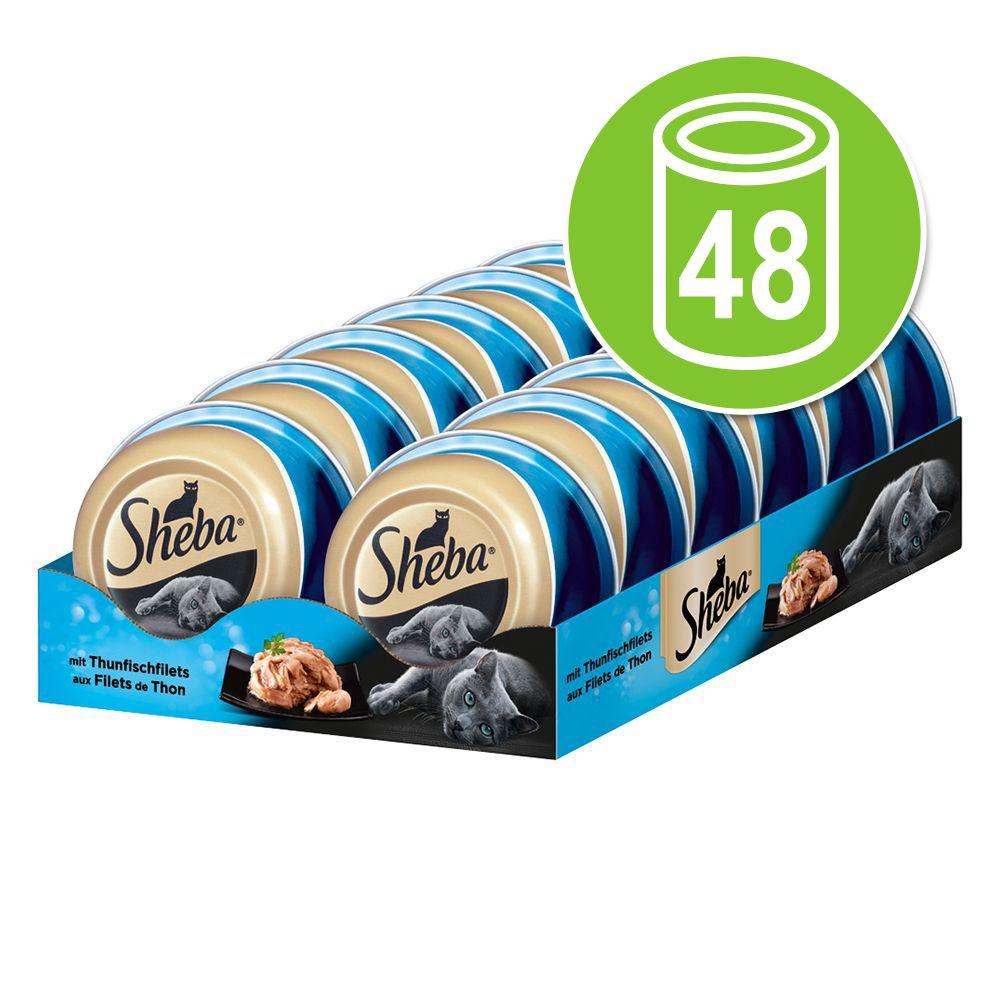 Ekonomipack: Sheba Mealtime Luxuries 48 x 80 g Kycklingbröstfilé