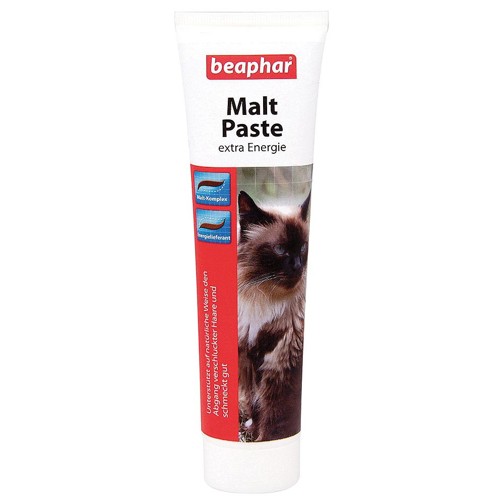 beaphar Malt Paste for Hair Balls - Saver Pack: 2 x 250g
