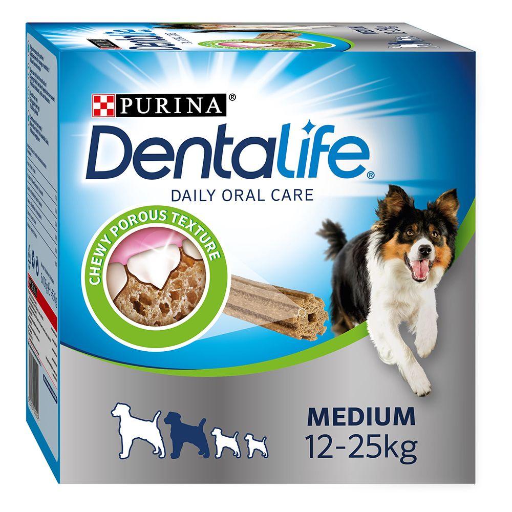 Purina Dentalife Tägliche Zahnpflege-Snacks für mittelgroße Hunde - 48 Sticks (16 x 69 g)