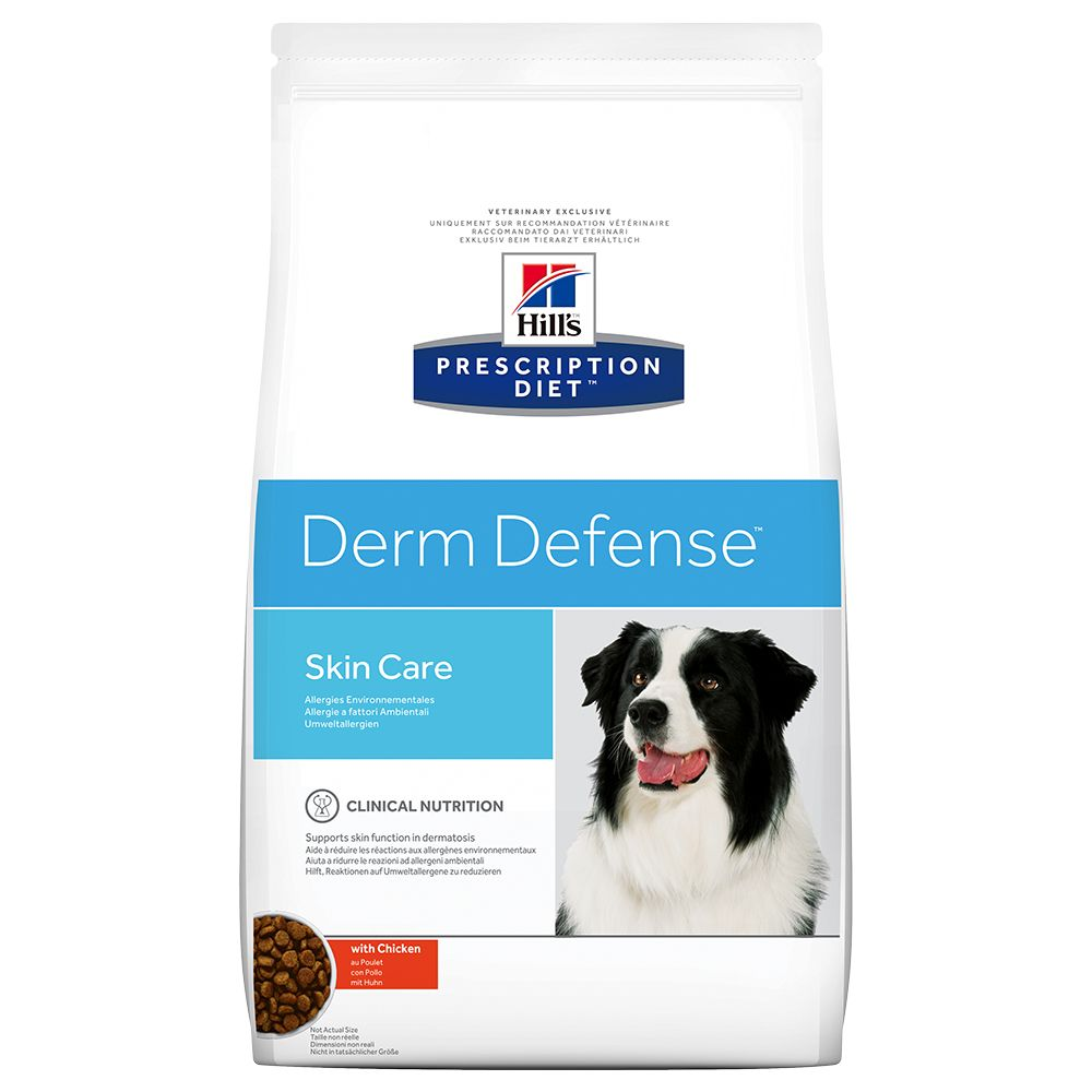 Derm Defense Skin Care Hill's Prescription Diet Dry Dog Food