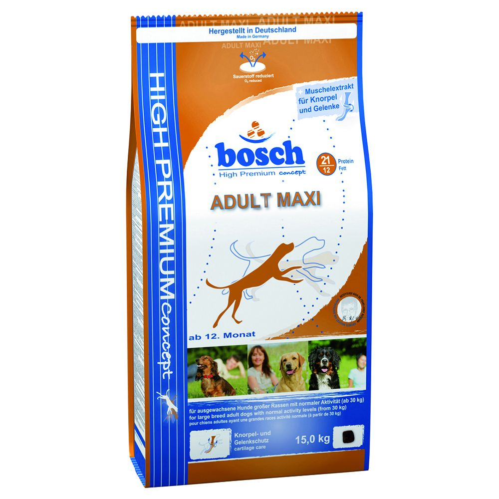 Bosch Adult Maxi - Sparpaket: 2 x 15 kg