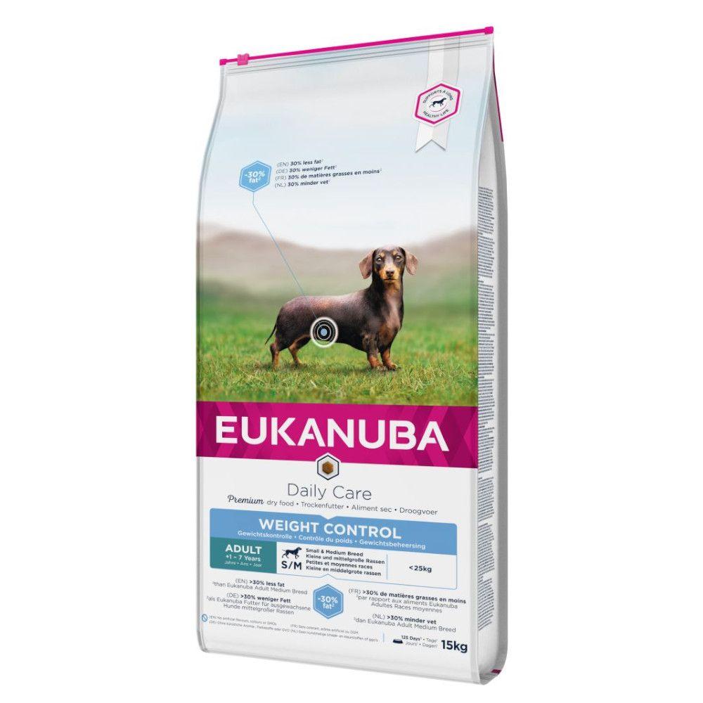 Eukanuba Medium Breed Adult - Weight Control - 15kg