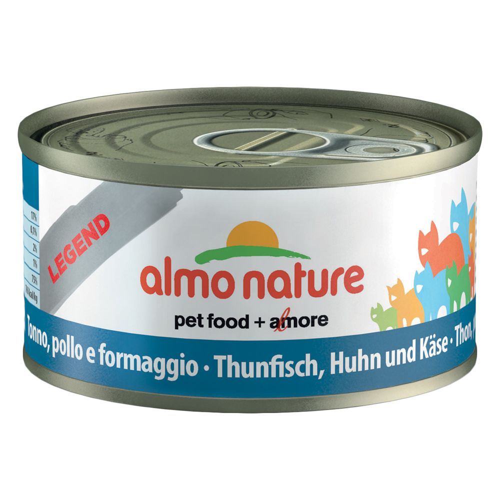 Almo Nature Legend 6 x 70 g - Thunfisch & Jungs...
