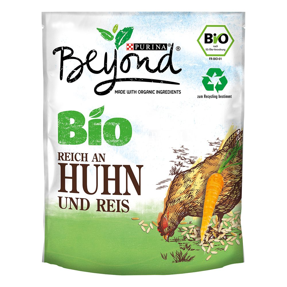 Image of Beyond Bio Adult ricco in Pollo e Riso - Set %: 3 x 800 g