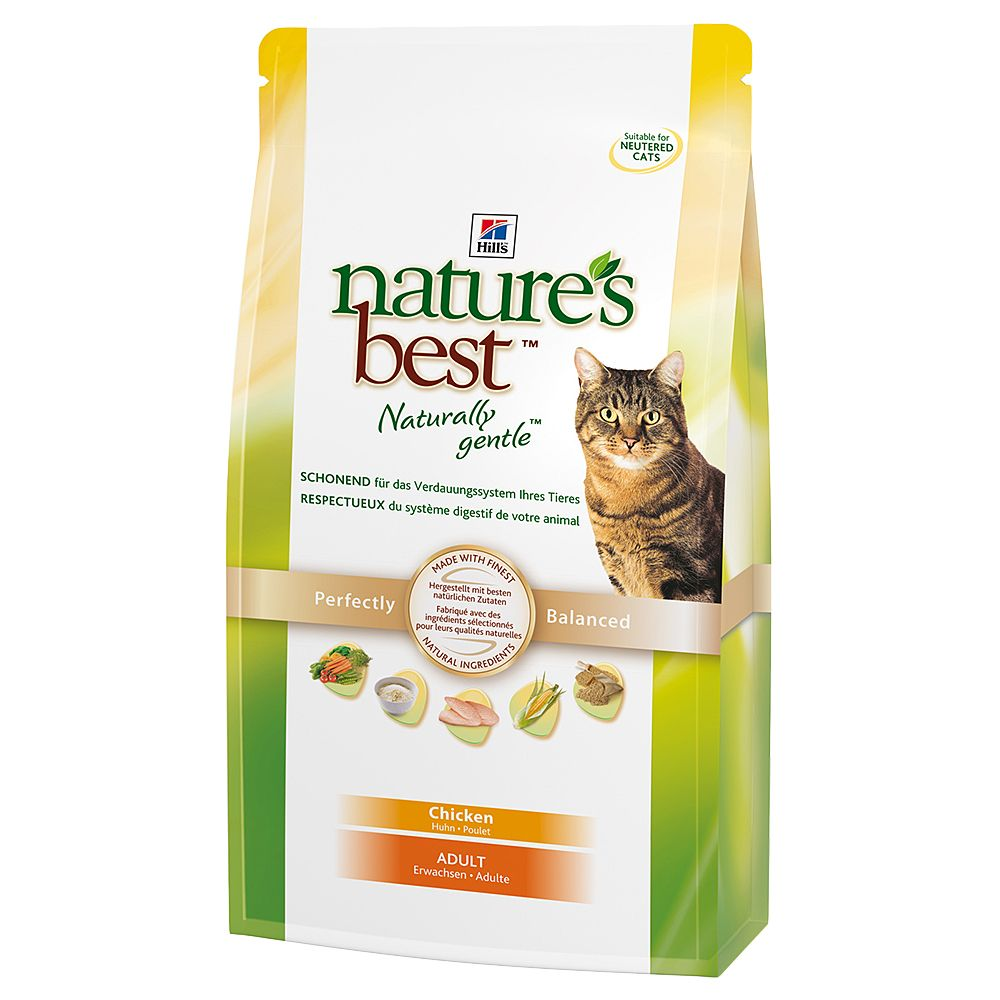 Hill's Nature's Best Feline Adult Cat - Chicken - Economy Pack: 2 x 2kg