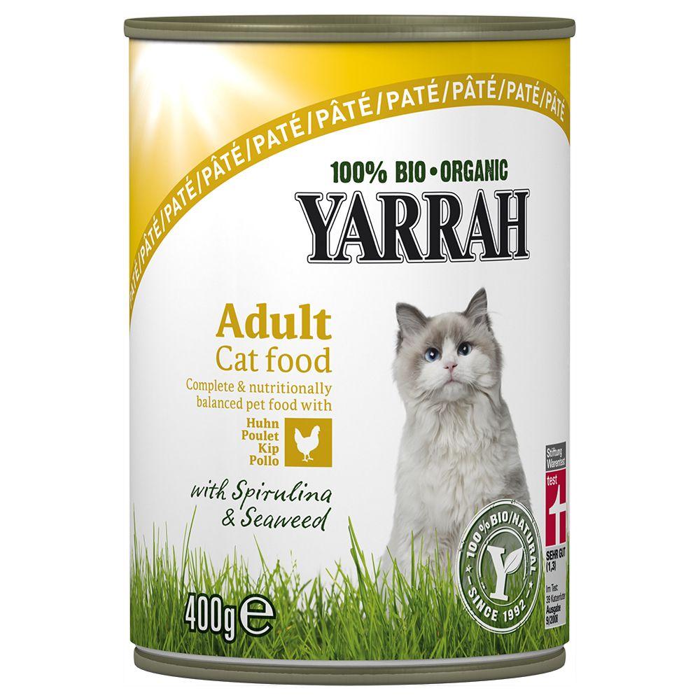 Yarrah Organic Pâté 6 x 400g - Chicken