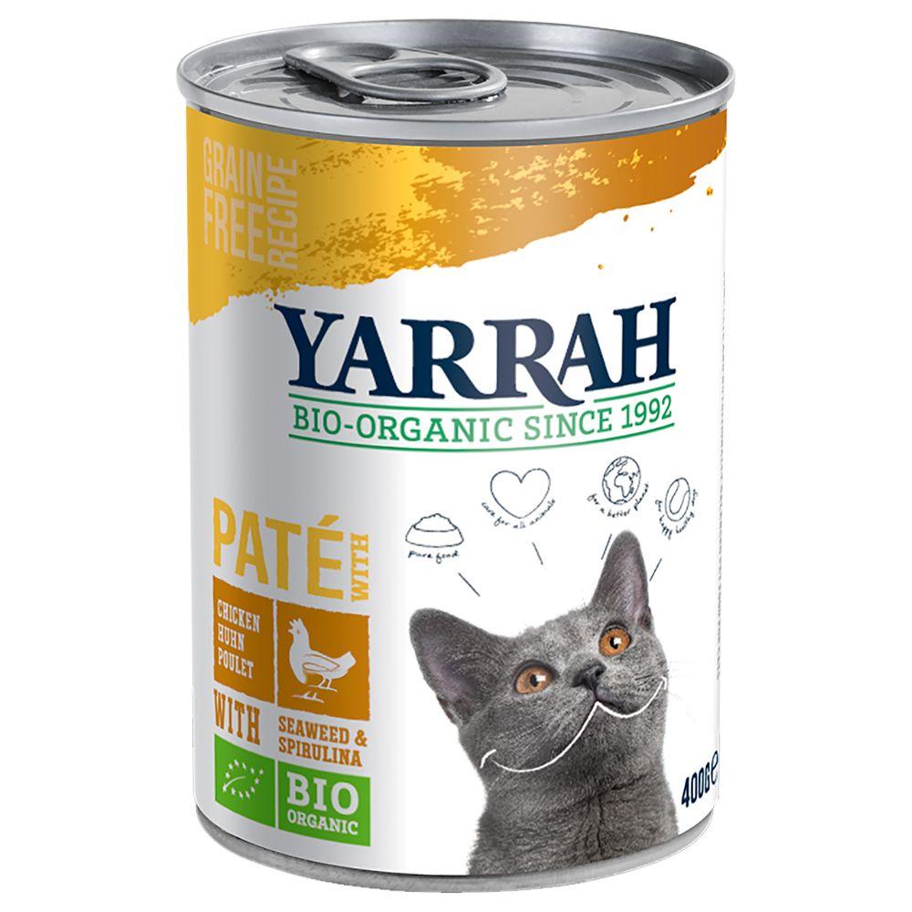 Yarrah Organic Paté 6 x 400 g - Fisk
