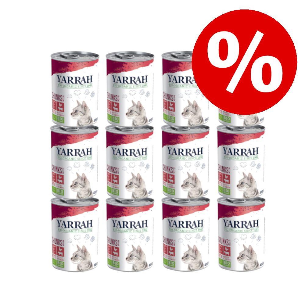 12 x 400 g / 405 g Yarrah Organic till sparpris! - Paté: eko-fisk (12 x 400 g)