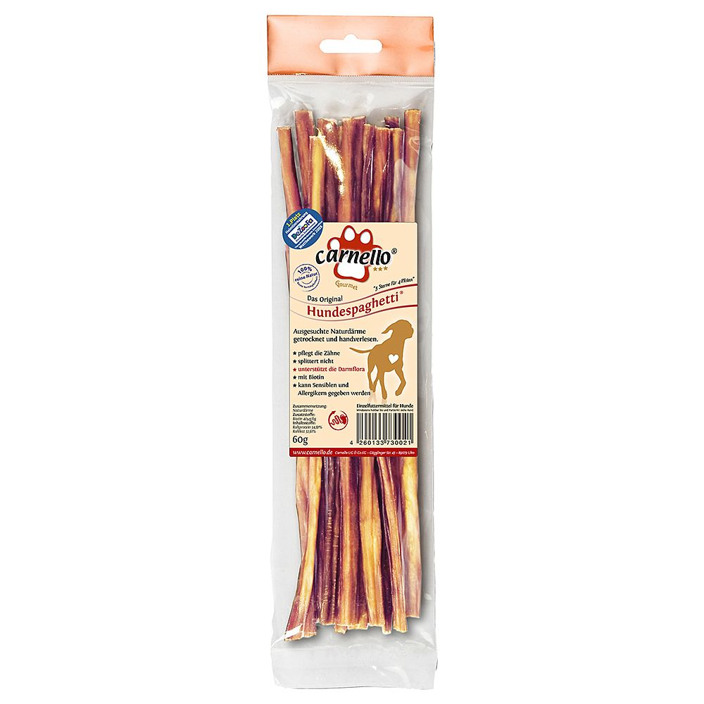Original Carnello Dog Chew Spaghetti