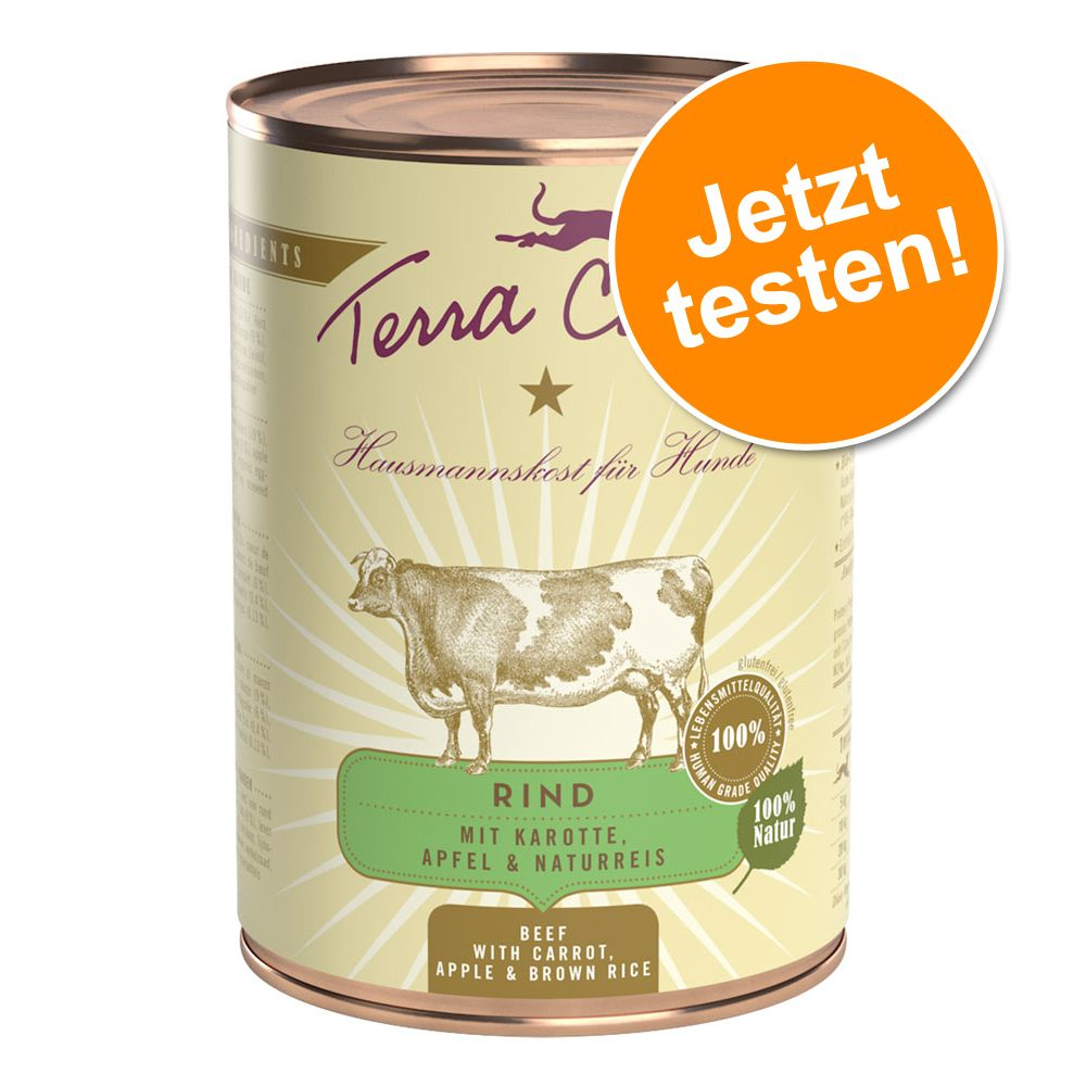 Terra Canis im gemischten Probierpaket 6 x 400 ...