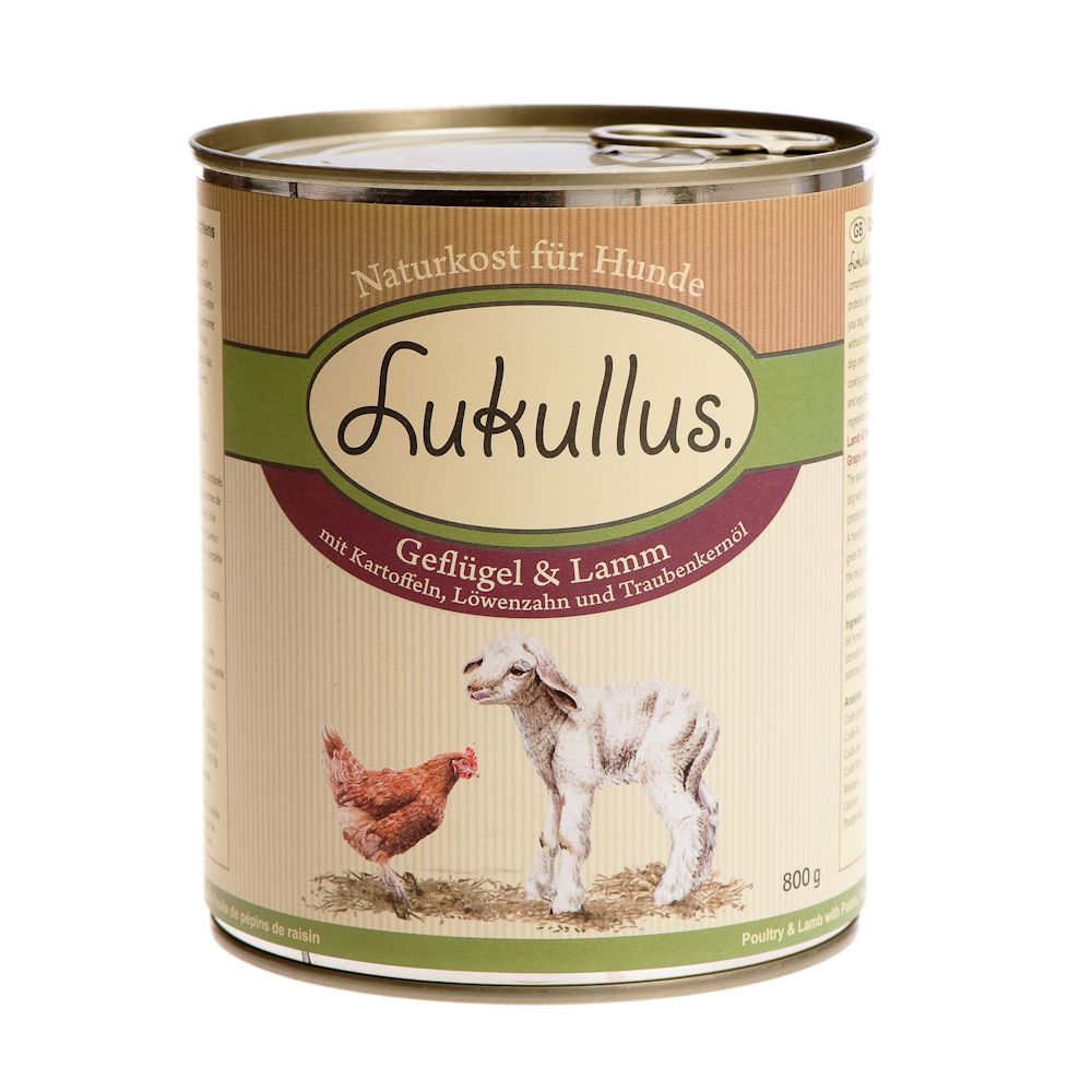 Lukullus Lamb & Poultry - 6 x 400g