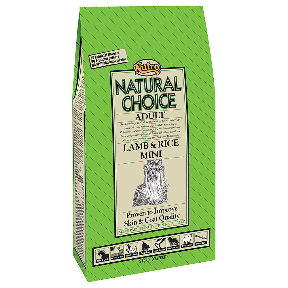 Nutro Natural Choice Adult Lamb & Rice Mini - 7kg
