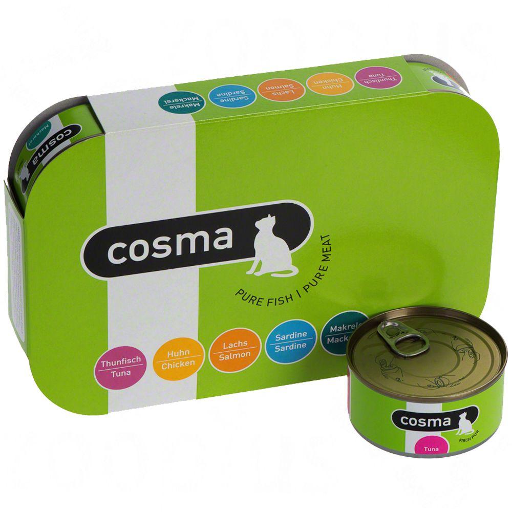 Cosma Original w galarecie, 6 x 170 g - Pakiet mieszany