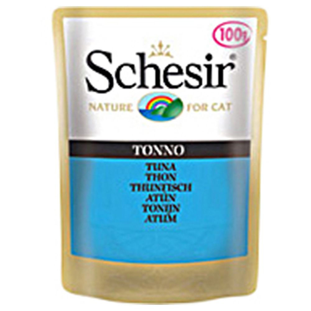 Schesir Adult Pouch 6 x 100g - Tuna with Quinoa
