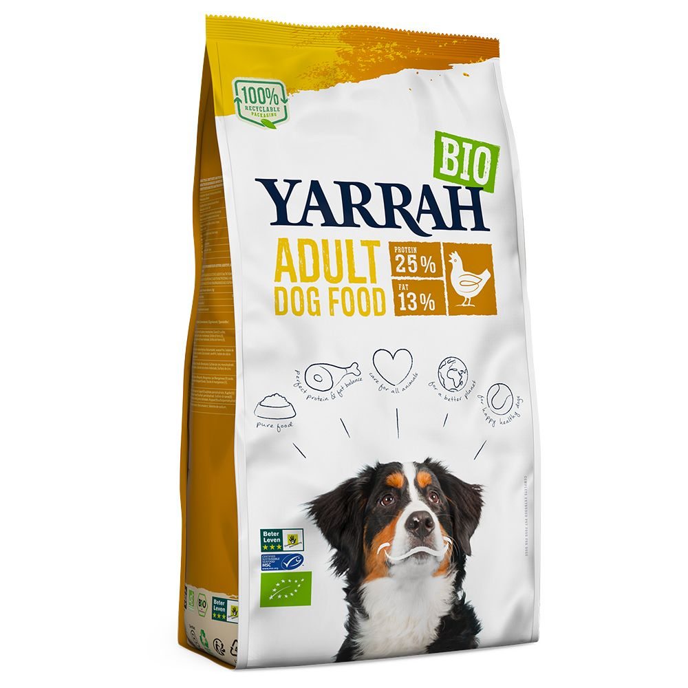 Yarrah Organic Adult with Organic Chicken - Economy Pack: 2 x 15kg