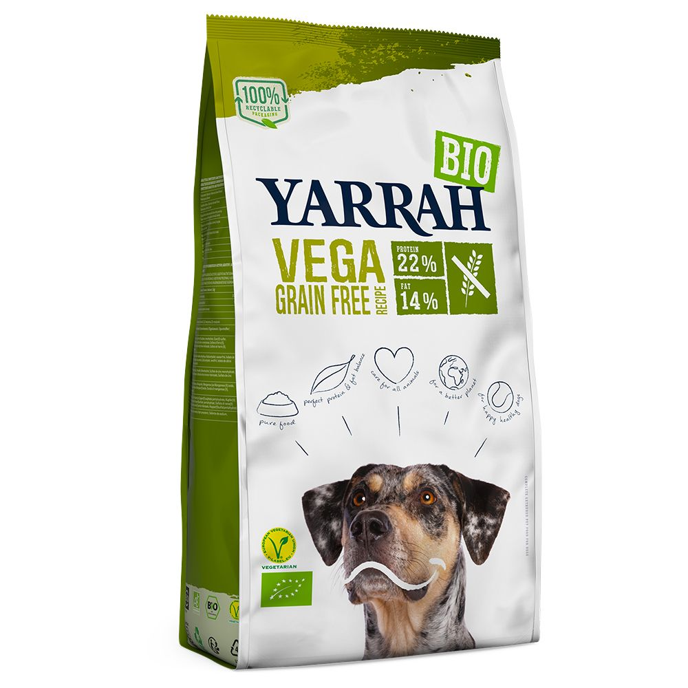 Yarrah Organic Vega Grain-Free - 10kg