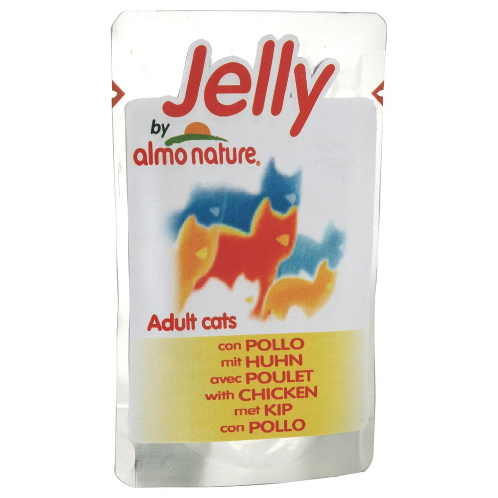 Image of Jelly Pouch by Almo Nature 6 x 70 g - Huhn