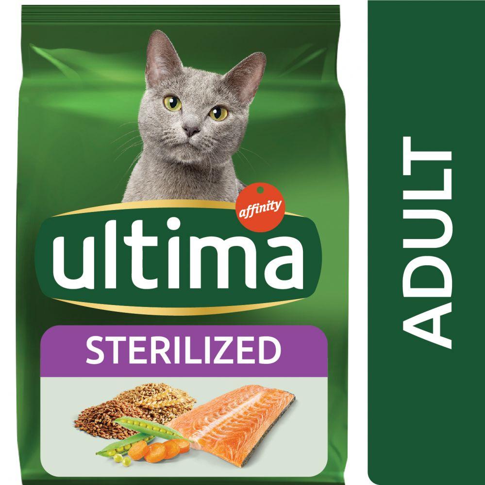 3kg Adult Stérilisé Ultima saumon et orge pour chat