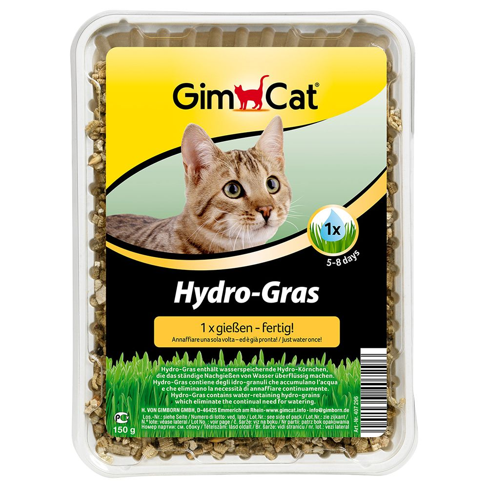 GimCat Hydro-Grass - Saver Pack: 3 x 150g