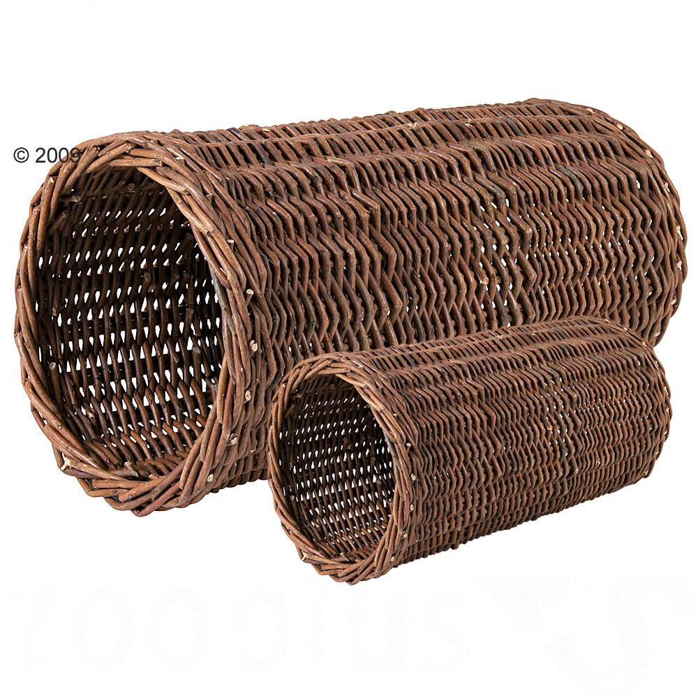 Trixie tunel wiklinowy dla małych zwierząt - Ø 20 x 38 cm