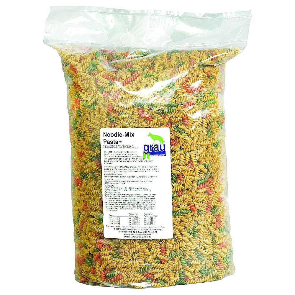 Grau Noodle-Mix Pasta+ - Sparpaket: 2 x 5 kg