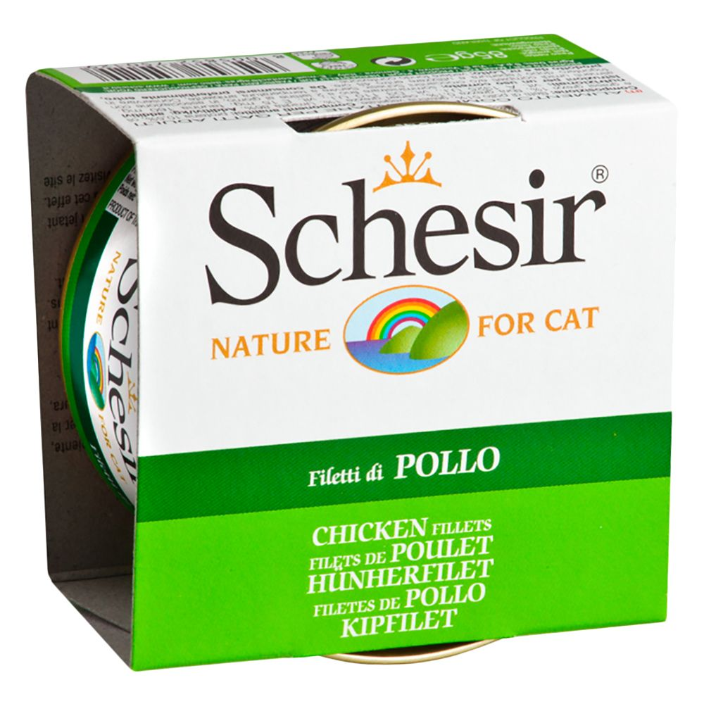 85g Schesir Wet Cat Food + 4 Free Packs