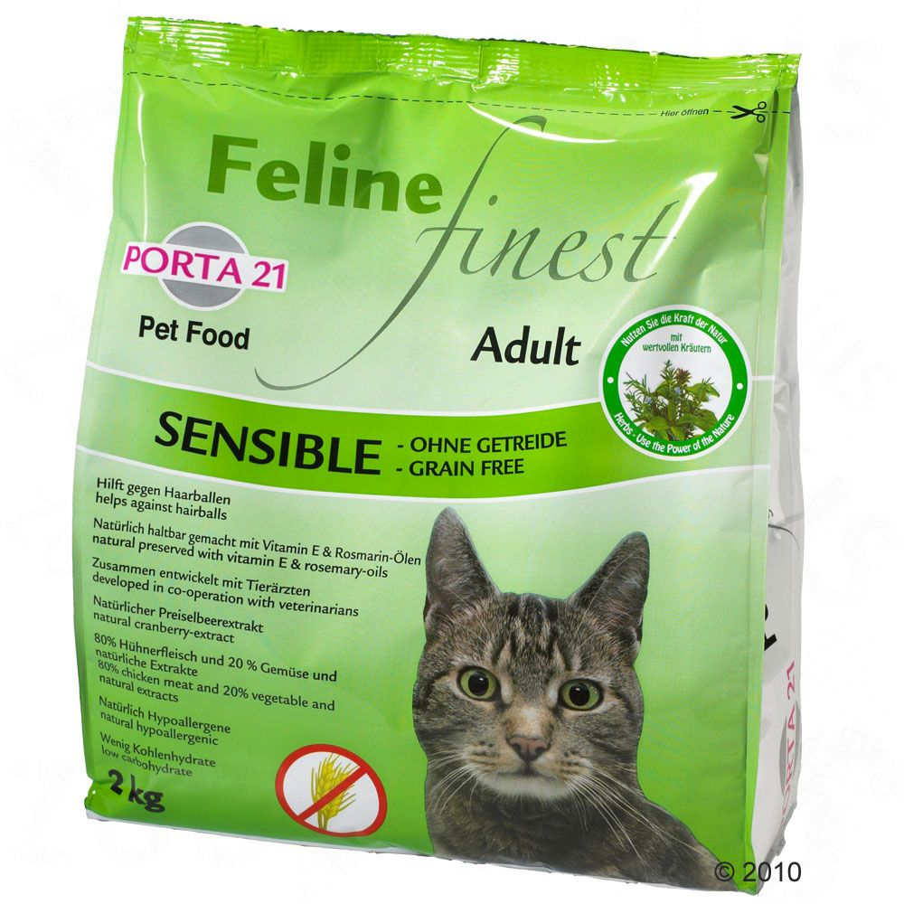 Porta 21 Feline Finest Sensible, bez zbóż - 2 kg