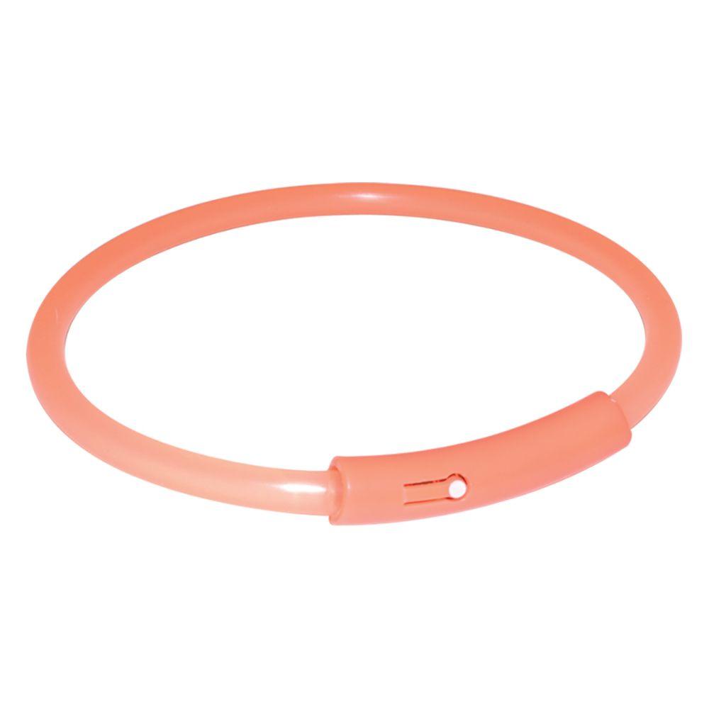Trixie Odblaskowa obroża Light Band - 42 cm