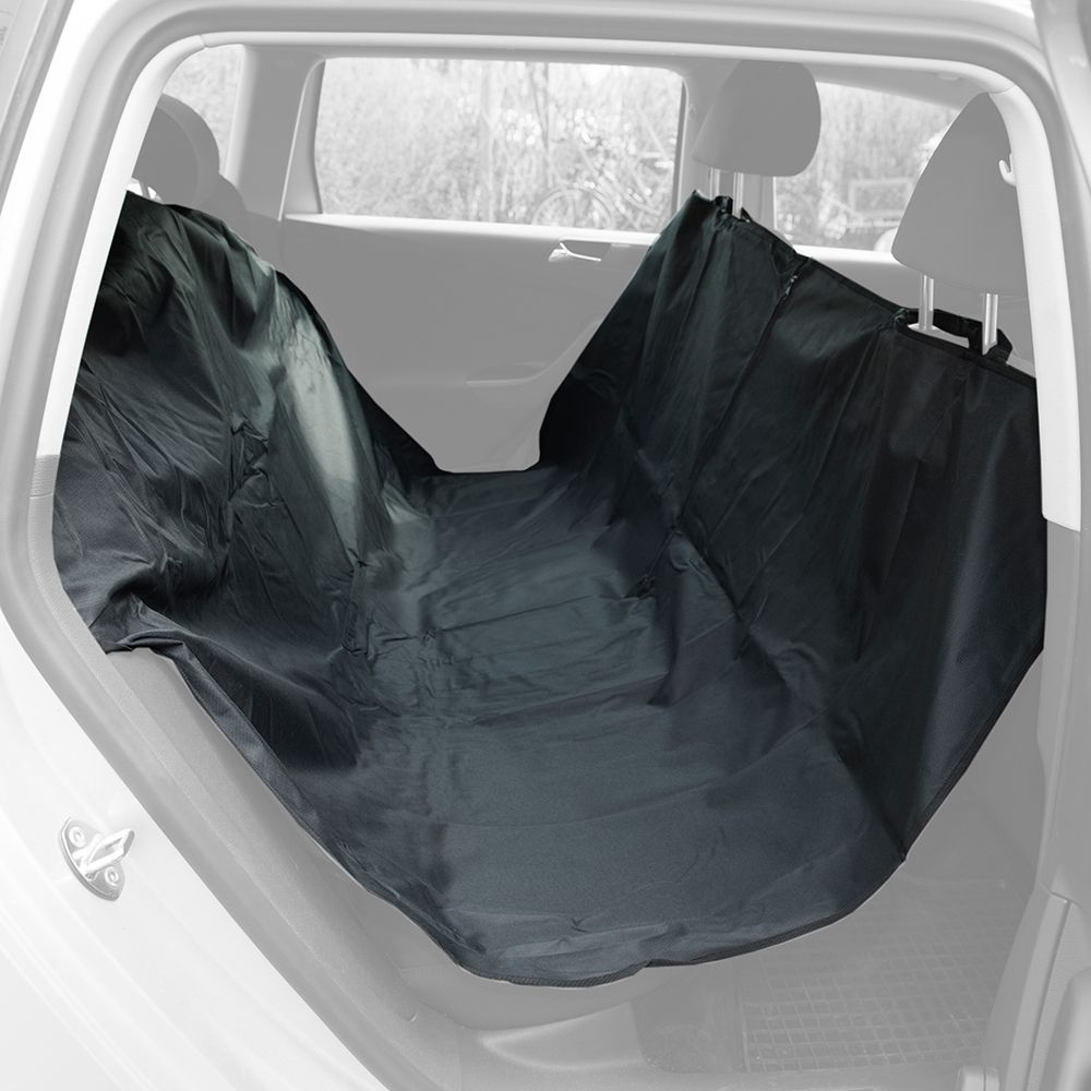 INOpets.com Anything for Pets Parents & Their Pets Seat Guard Dog Car Cover - Large gap-fill (full rear seat width)