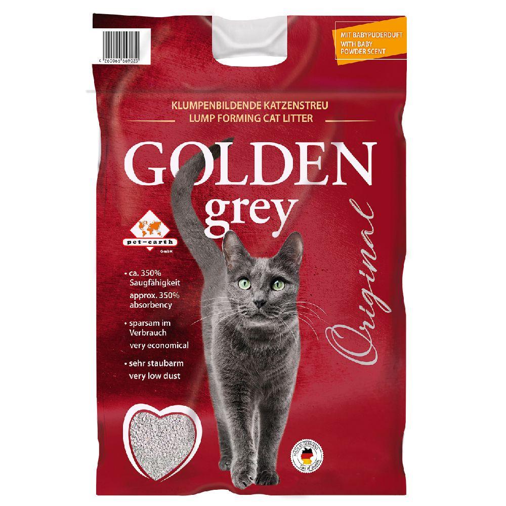 14kg Grey Golden - Litière pour Chat