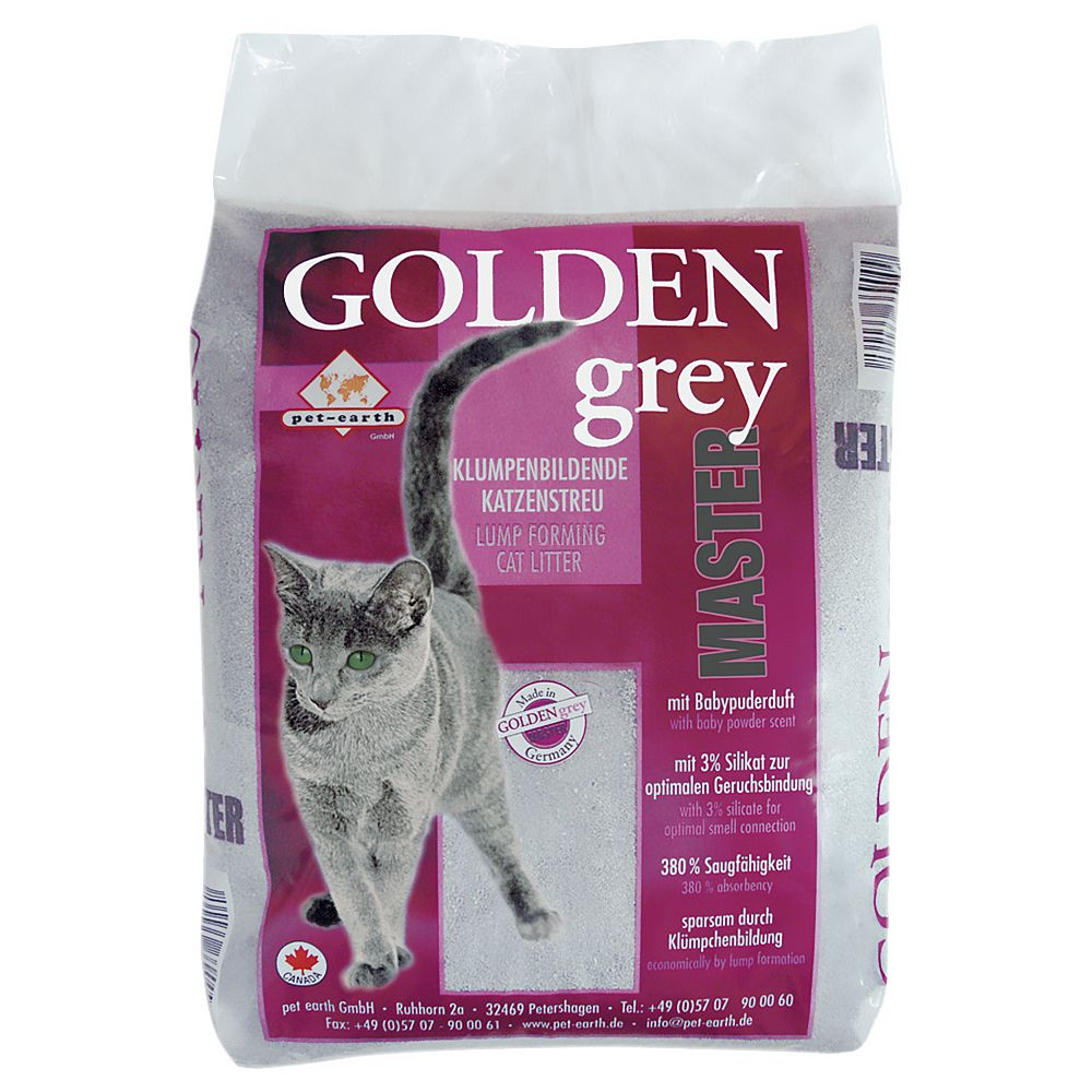 Foto Lettiera Golden Grey Master - 2 x 14 kg - prezzo top!