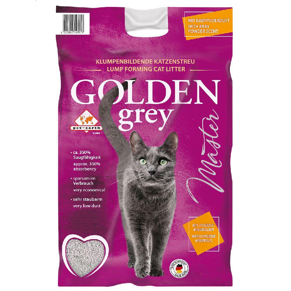 14kg Golden Grey Master Litière pour chat