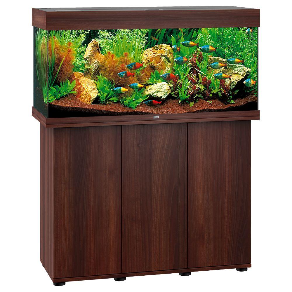 Akwarium Juwel Rio 180 LED SBX - ciemnobrązowe