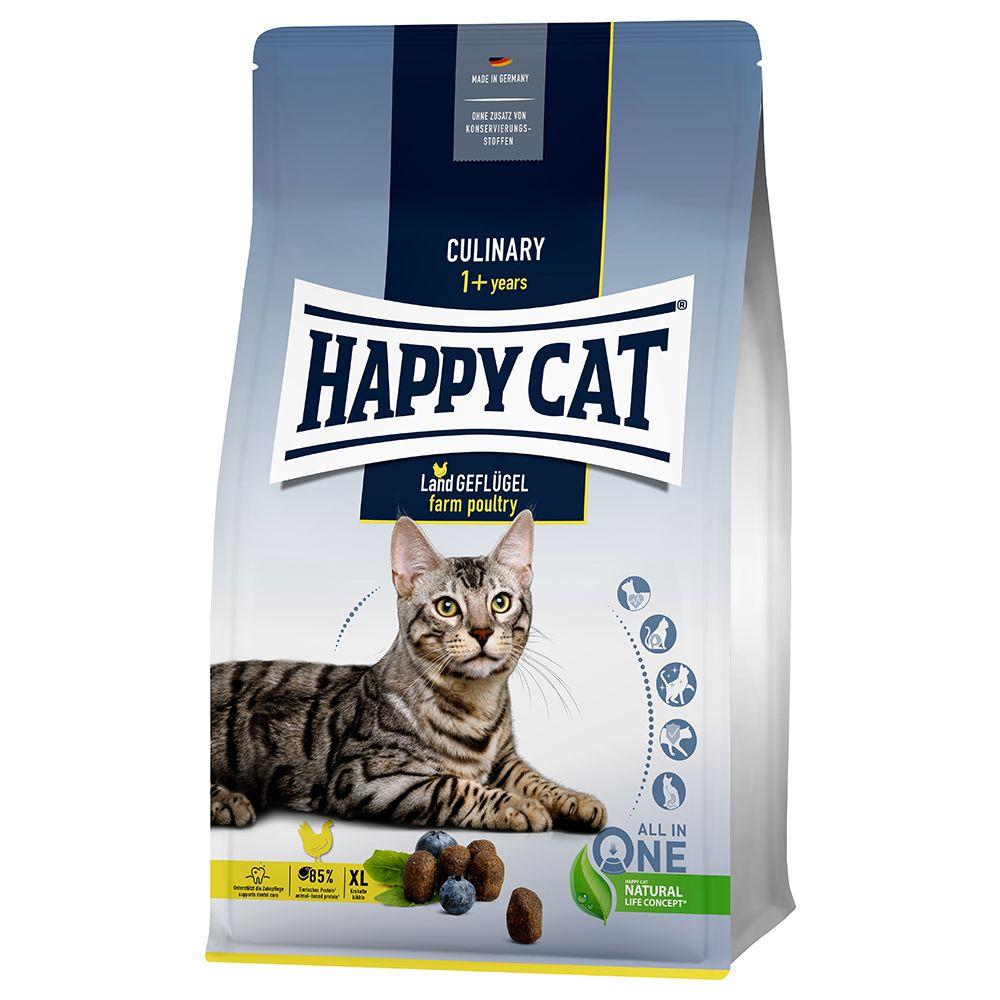 Happy Cat Culinary Adult Land-Geflügel  - Sparpaket: 2 x 1,3 kg