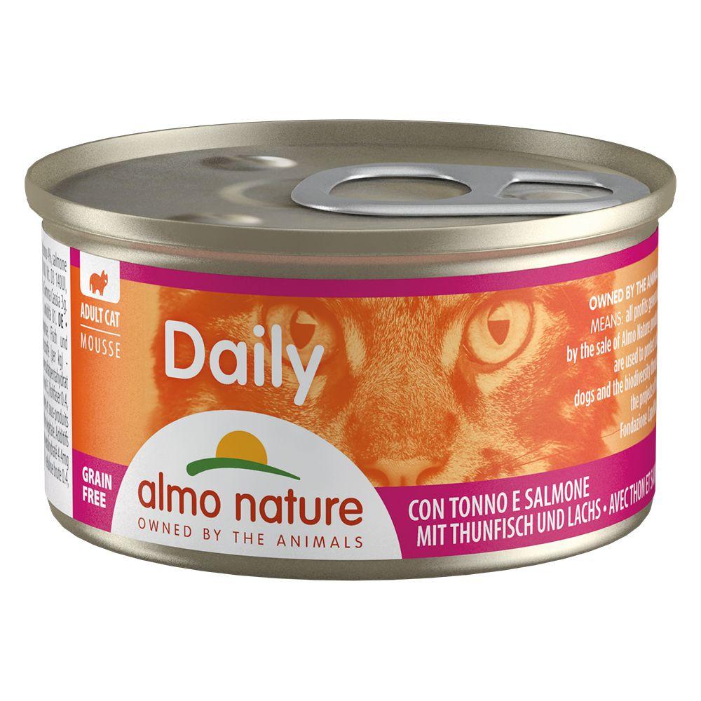 6x85g bouchées à la dinde et au canard Almo Nature Daily Menu - Nourriture pour Chat