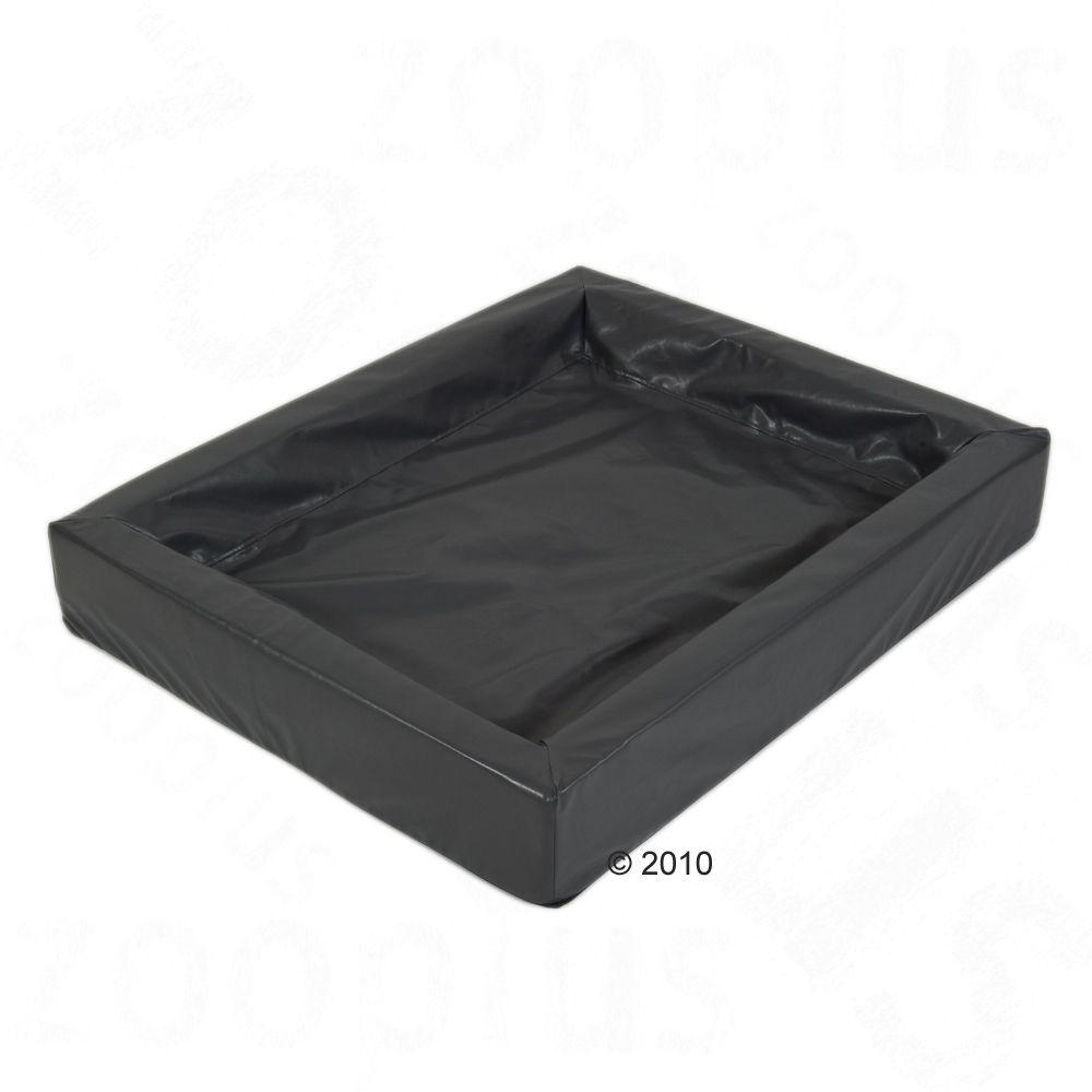 Hygienisk kattsäng, granit - L 100 x B 80