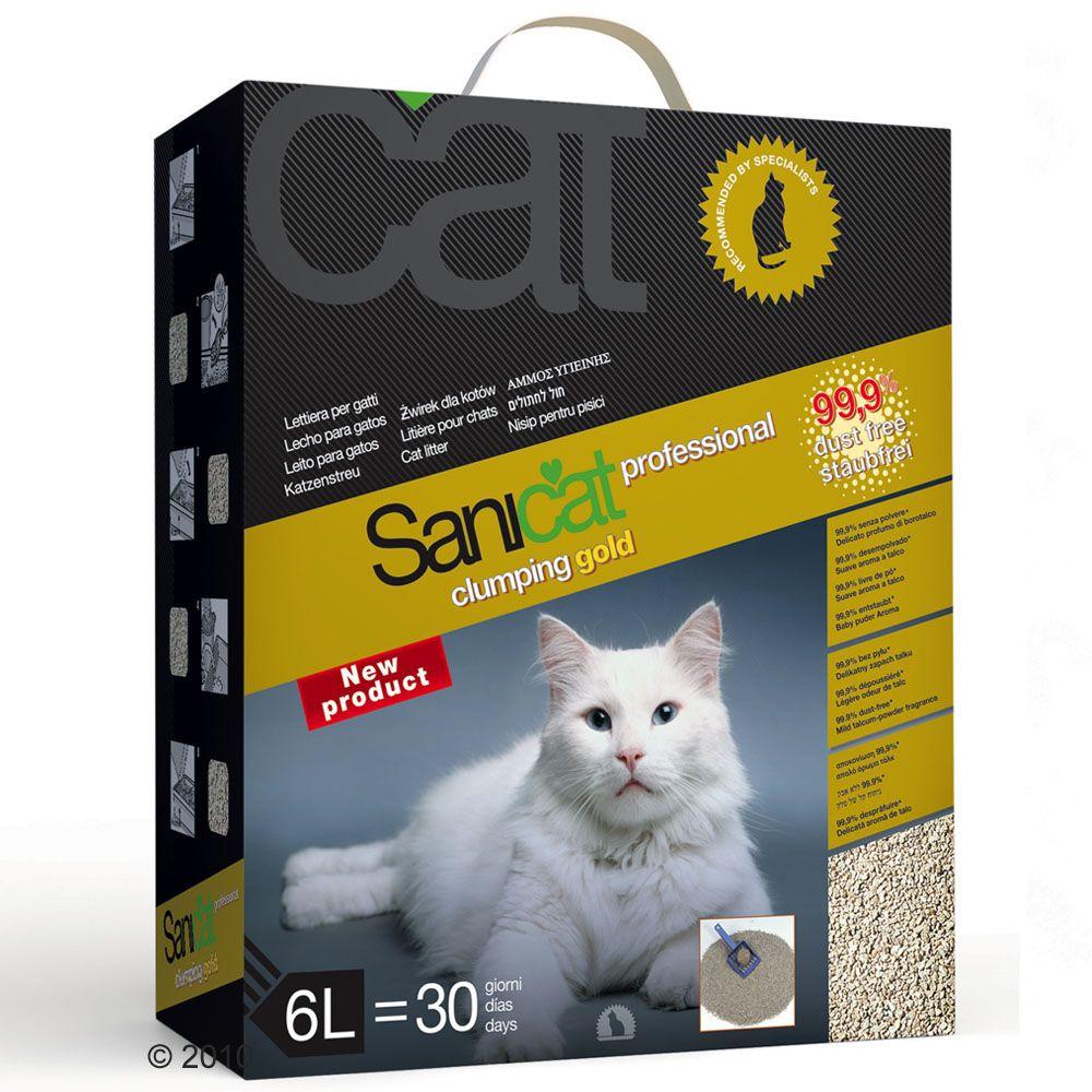sanicat-professional-clumping-gold-macskaalom-3-x-6-l