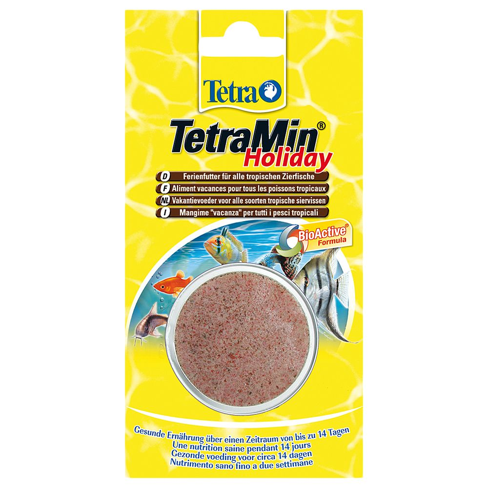 Tetra Holiday - Saver Pack: 3 x 30g