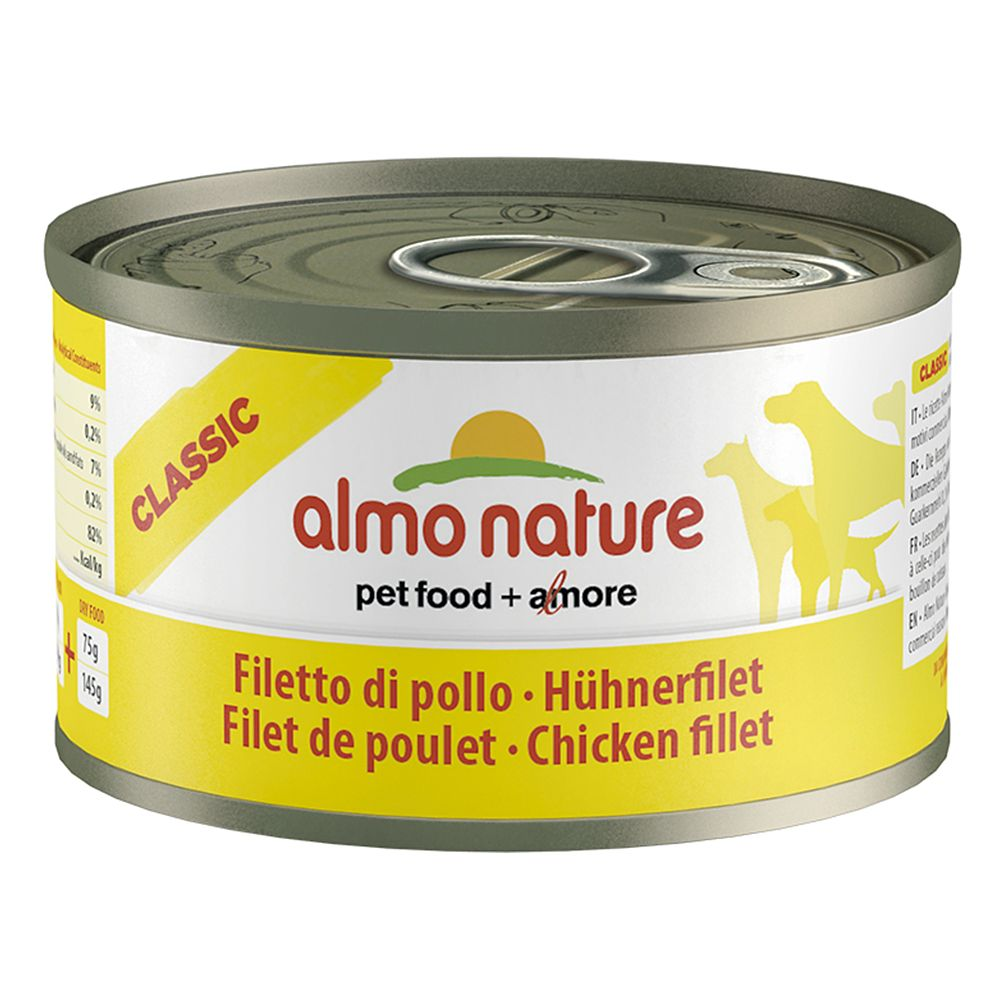 Almo Nature Saver Pack 12 x 95g - Chicken Fillet