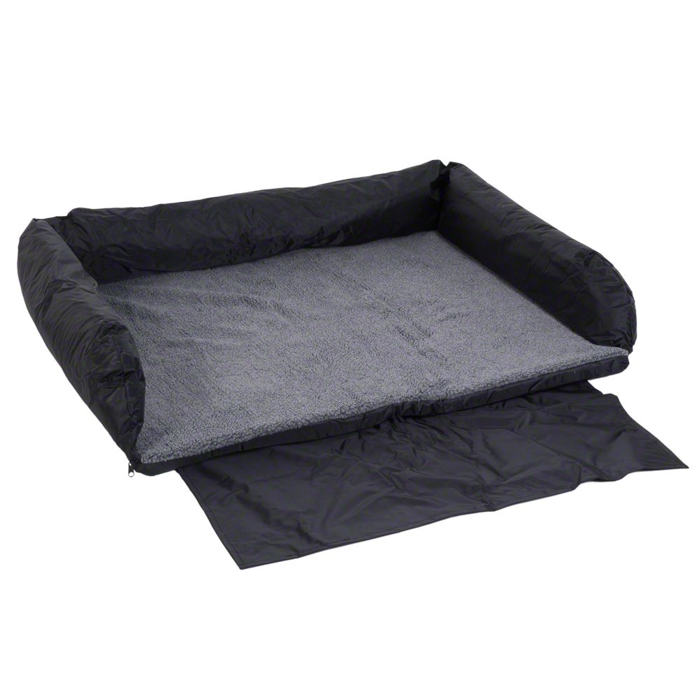 Car Dog Bed with Bumper Cover - 95 x 75 cm (L x W)