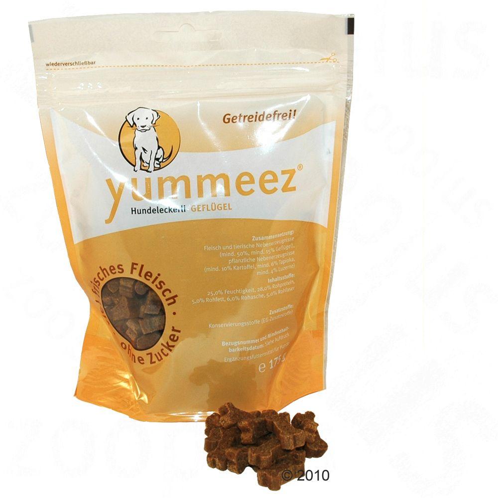 Yummeez Ciasteczka w formie kości, 175 g - Drób