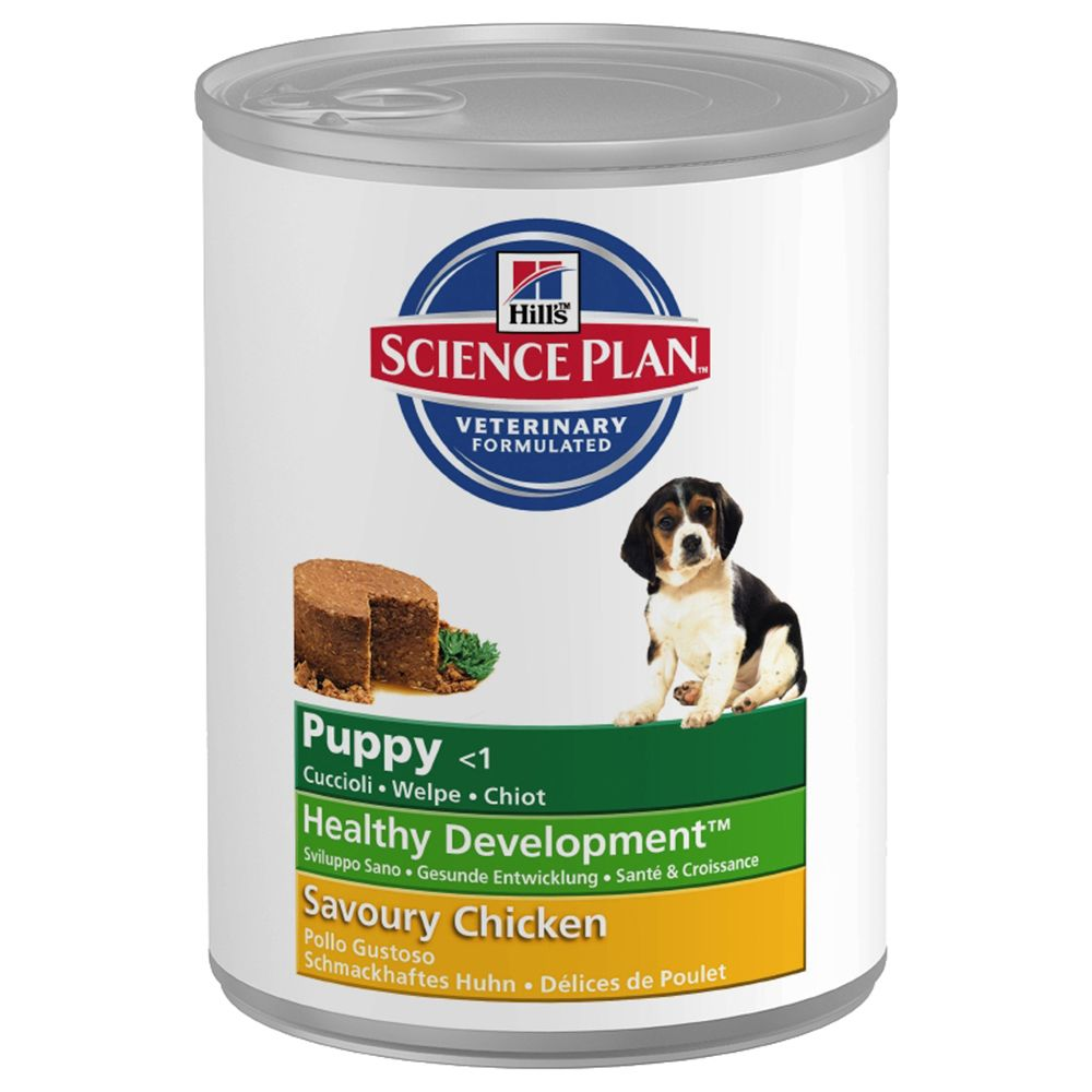 Hill's Science Plan Puppy Healthy Development - Chicken - Saver Pack: 12 x 370g