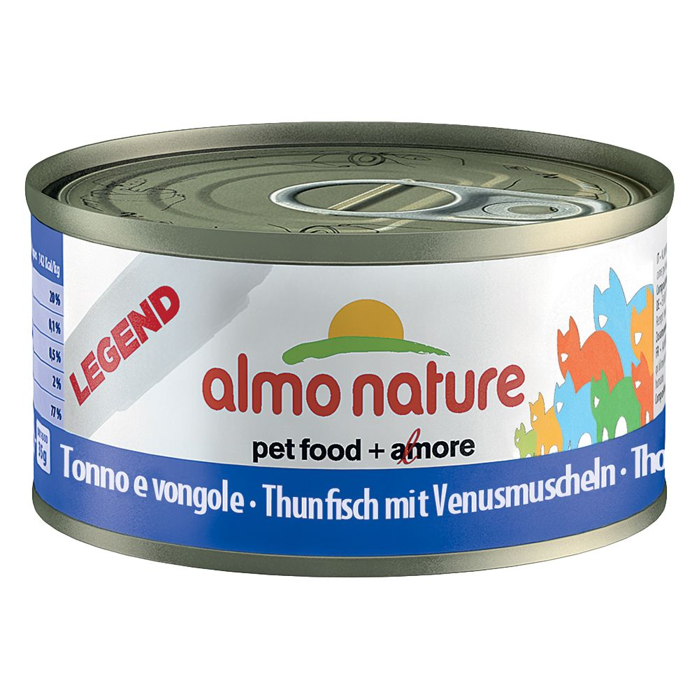 Almo Nature Legend 6 x 70g - Salmon & Carrot