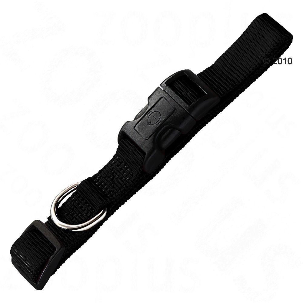 Obroża Hunter Ecco Sport Vario Basic, czarna - Obwód szyi: 22-34 cm